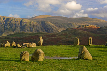 Castlerigg Stone Circle in the Lake District