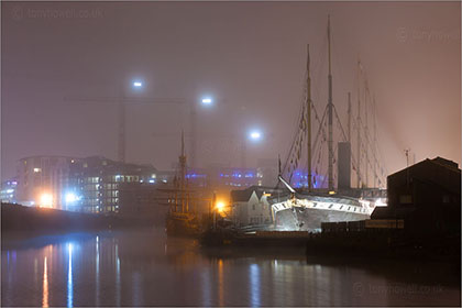 Foggy night SS Great Britain