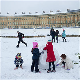 Playing at The Royal Crescent