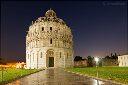 Baptistry, Night