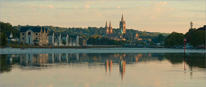Dawn, Truro Cathedral