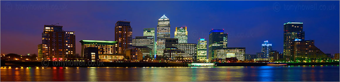 Canary Wharf, London