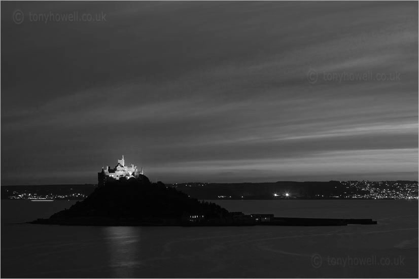 St Michaels Mount, Night