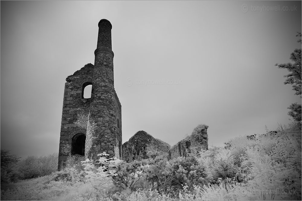 Pascoes Shaft, South Wheal Frances Tin Mine