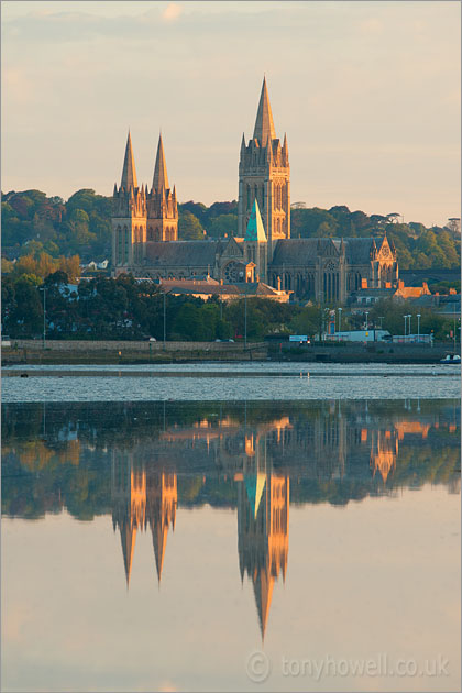 Truro Cathedral, Dawn