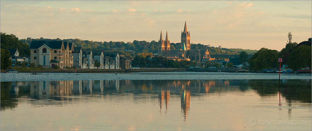 Truro Cathedral at Sunrise