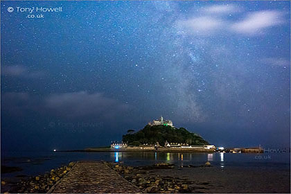 St-Michaels-Mount-Milky-Way-Cornwall