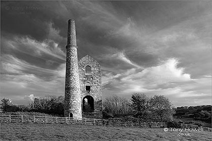 Wheal Unity Wood Tin Mine, Cornwall