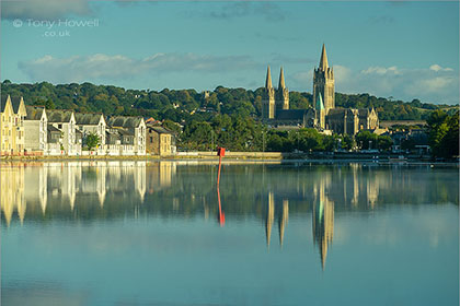 Truro Cathedral, River