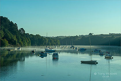 Boats-Tresillian-River-Dawn-Malpas-Cornwall