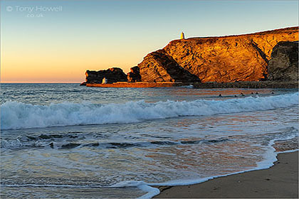 Portreath-Beach-Sunset-Cornwall