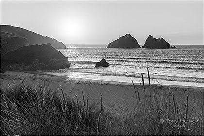 Holywell-Beach-Sunset-Cornwall