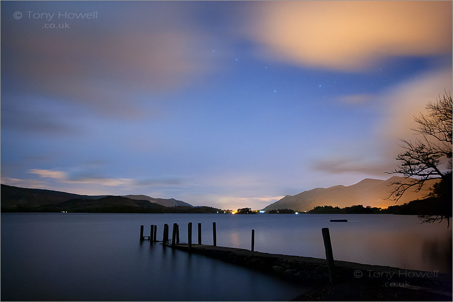 Derwent Water, Night