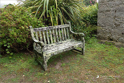 Bench, Old Town Church, St-Marys, Isles of Scilly