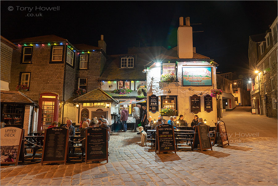 Sloop Inn, Night, St Ives