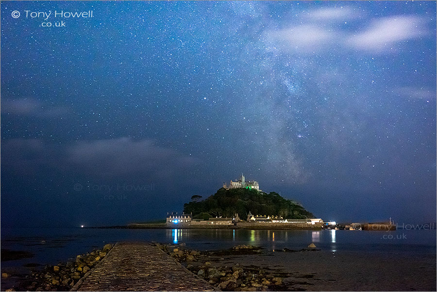 Milky Way, St Michaels Mount
