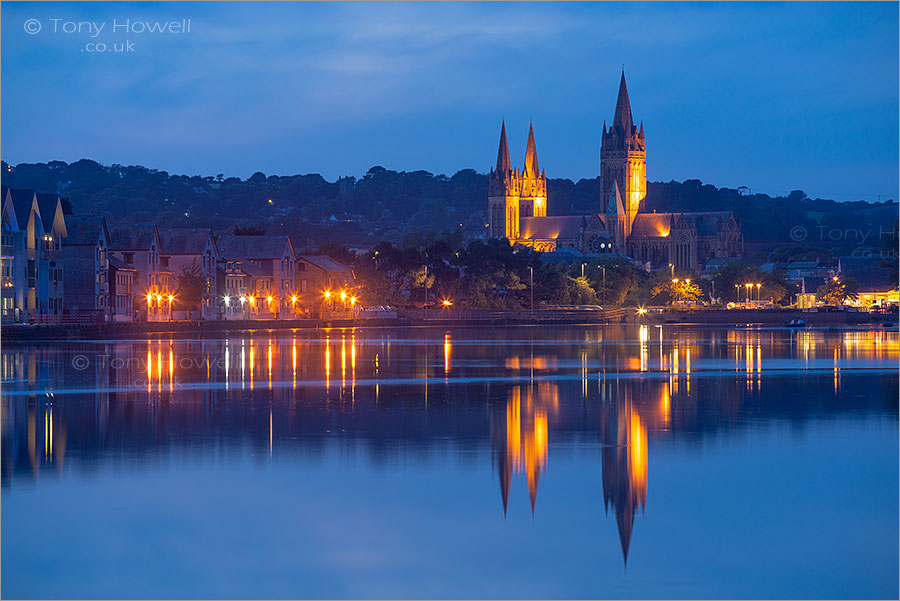 Truro Cathedral, Dusk