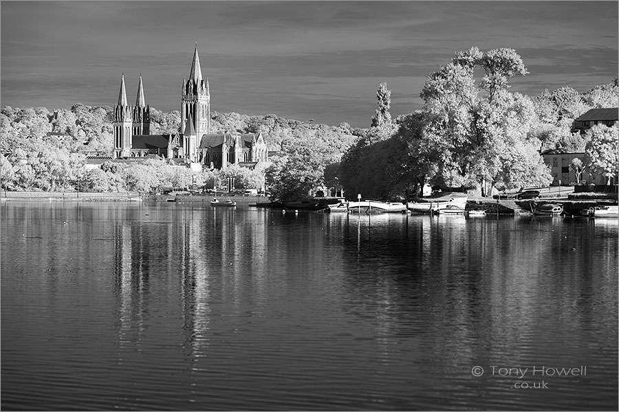 Truro Cathedral, Infrared