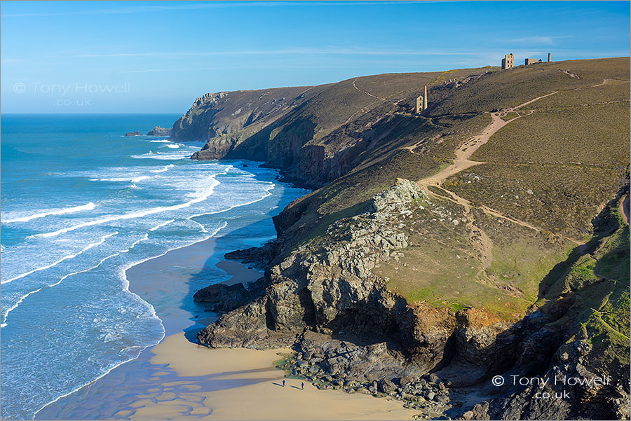 Wheal Coates Tin Mine, Chapel Porth Beach