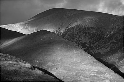Latrigg, Black and White