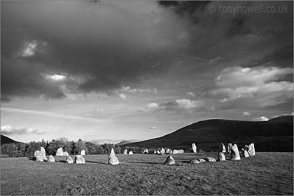 Castlerigg Stone Circle, Black and White