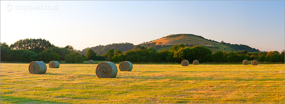Hay Bales, Brent Knoll