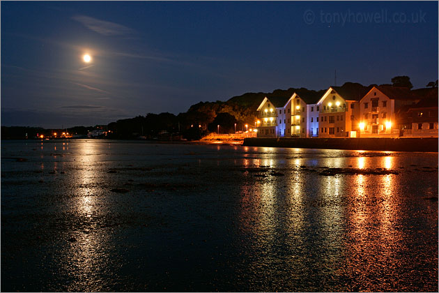 Houses, Moon, Truro