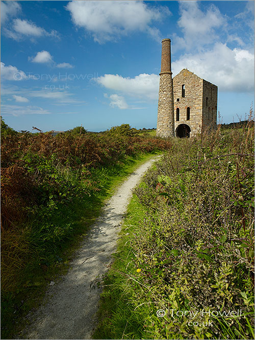 Pascoes Shaft Tin Mine, South Wheal Frances