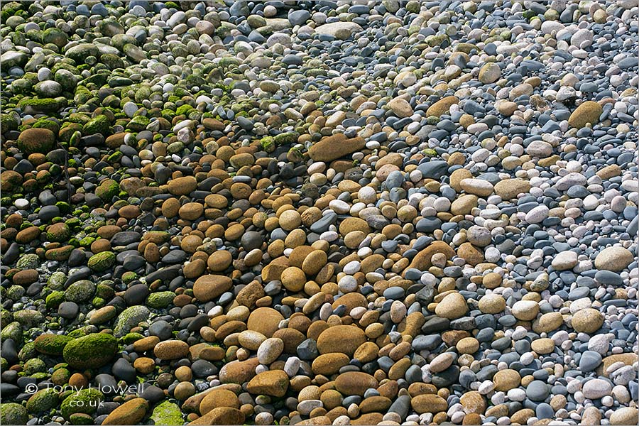 Pebbles, Porth Nanven Beach