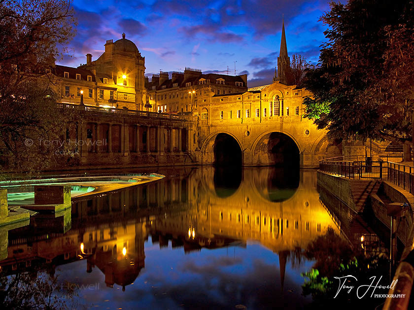 Pulteney Bridge, Night