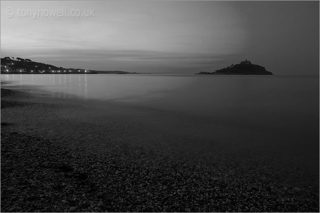 St Michaels Mount, Dawn