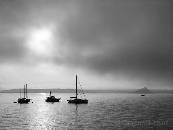 St Michaels Mount, Sea Fog