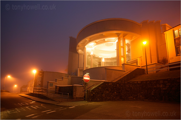 Tate Gallery, St Ives, Fog