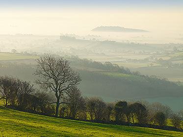 View from Mendip Hills