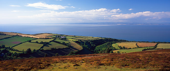 View from Exmoor