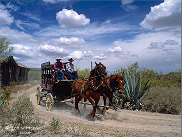Stagecoach, Old Tucson